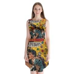 Love stories Sleeveless Chiffon Dress