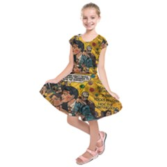 Love stories Kids  Short Sleeve Dress