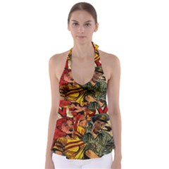 Woman in love Babydoll Tankini Top
