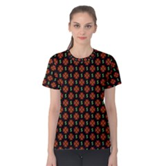 Dollar Sign Graphic Pattern Women s Cotton Tee
