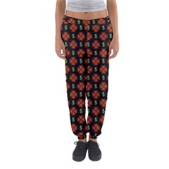 Dollar Sign Graphic Pattern Women s Jogger Sweatpants