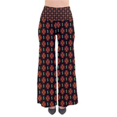 Dollar Sign Graphic Pattern Pants