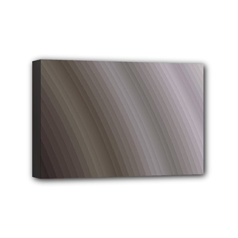Fractal Background With Grey Ripples Mini Canvas 6  X 4