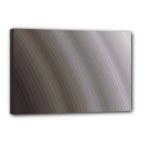 Fractal Background With Grey Ripples Canvas 18  X 12