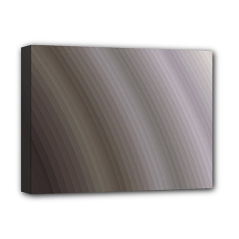 Fractal Background With Grey Ripples Deluxe Canvas 16  X 12