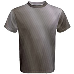 Fractal Background With Grey Ripples Men s Cotton Tee