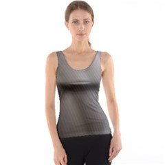 Fractal Background With Grey Ripples Tank Top