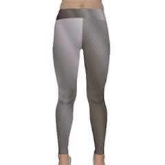 Fractal Background With Grey Ripples Classic Yoga Leggings
