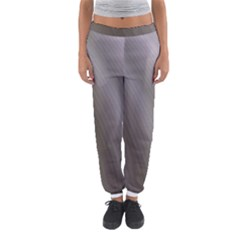 Fractal Background With Grey Ripples Women s Jogger Sweatpants