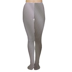 Fractal Background With Grey Ripples Women s Tights