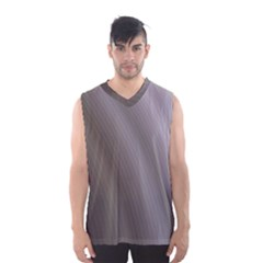 Fractal Background With Grey Ripples Men s Basketball Tank Top