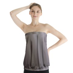 Fractal Background With Grey Ripples Strapless Top