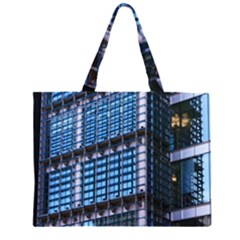 Modern Business Architecture Zipper Large Tote Bag