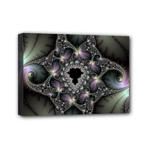 Magic Swirl Mini Canvas 7  X 5