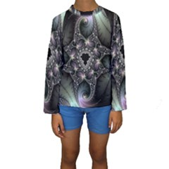 Magic Swirl Kids  Long Sleeve Swimwear