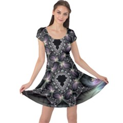 Magic Swirl Cap Sleeve Dresses
