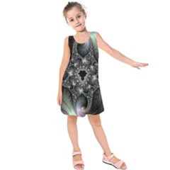 Magic Swirl Kids  Sleeveless Dress