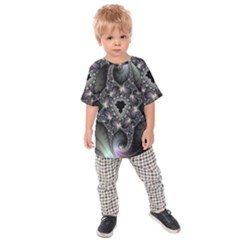 Magic Swirl Kids  Raglan Tee