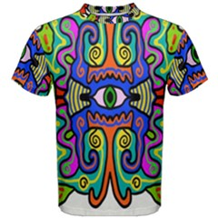 Abstract Shape Doodle Thing Men s Cotton Tee