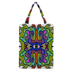 Abstract Shape Doodle Thing Classic Tote Bag
