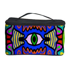 Abstract Shape Doodle Thing Cosmetic Storage Case