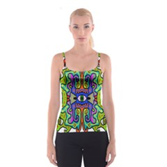 Abstract Shape Doodle Thing Spaghetti Strap Top