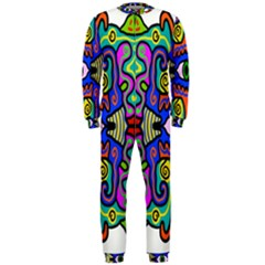Abstract Shape Doodle Thing Onepiece Jumpsuit (men)