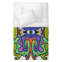 Abstract Shape Doodle Thing Duvet Cover (single Size)
