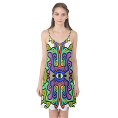 Abstract Shape Doodle Thing Camis Nightgown