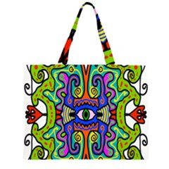 Abstract Shape Doodle Thing Large Tote Bag