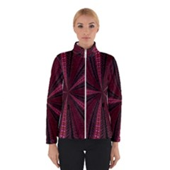 Red Ribbon Effect Newtonian Fractal Winterwear