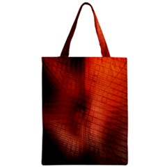 Background Technical Design With Orange Colors And Details Zipper Classic Tote Bag