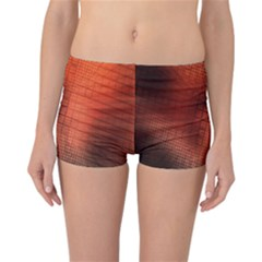Background Technical Design With Orange Colors And Details Reversible Bikini Bottoms