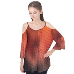Background Technical Design With Orange Colors And Details Flutter Tees