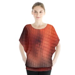 Background Technical Design With Orange Colors And Details Blouse