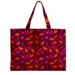 Umbrella Seamless Pattern Pink Lila Mini Tote Bag