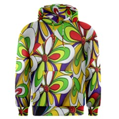 Colorful Textile Background Men s Pullover Hoodie