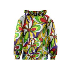 Colorful Textile Background Kids  Pullover Hoodie