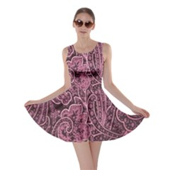 Abstract Purple Background Natural Motive Skater Dress