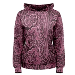 Abstract Purple Background Natural Motive Women s Pullover Hoodie