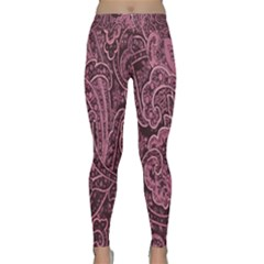 Abstract Purple Background Natural Motive Classic Yoga Leggings