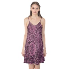 Abstract Purple Background Natural Motive Camis Nightgown