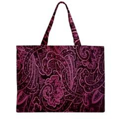 Abstract Purple Background Natural Motive Medium Tote Bag