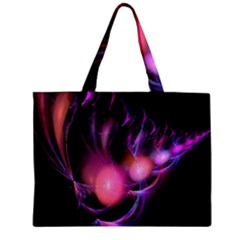 Fractal Image Of Pink Balls Whooshing Into The Distance Zipper Mini Tote Bag