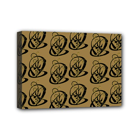 Art Abstract Artistic Seamless Background Mini Canvas 7  X 5