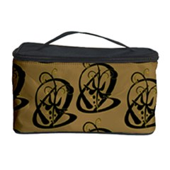 Art Abstract Artistic Seamless Background Cosmetic Storage Case