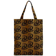 Art Abstract Artistic Seamless Background Zipper Classic Tote Bag