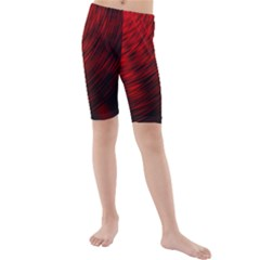 A Large Background With A Burst Design And Lots Of Details Kids  Mid Length Swim Shorts