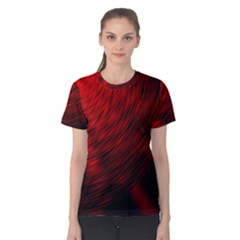 A Large Background With A Burst Design And Lots Of Details Women s Cotton Tee