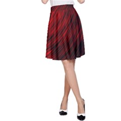 A Large Background With A Burst Design And Lots Of Details A-Line Skirt